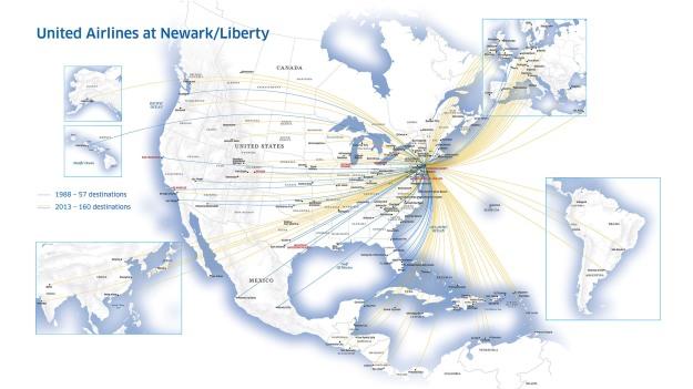 UNITED AIRLINES NEWARK LIBERTY HUB