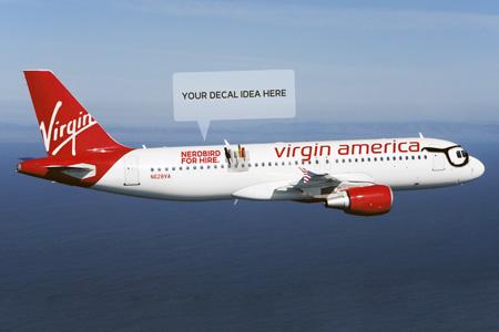 Virgin America A320-200 N628VA (06-Nerdbird)(Flt)(Virgin America)(LRW)