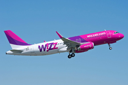 Wizz Air Hungary Takes Delivery Of Its First Airbus A320 With Sharklets World Airline News