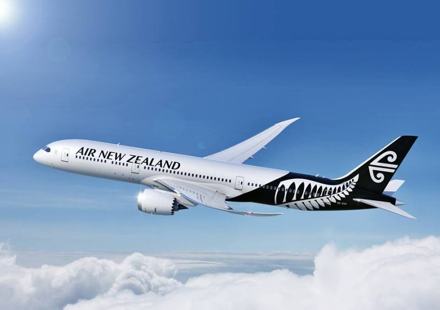Air New Zealand 787-9 (13-silver black fern)(Flt)(ANZ)(LR)