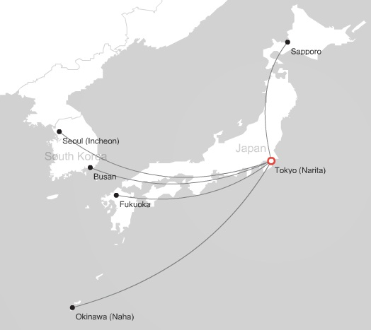 AirAsia Japan 6:2013 Route Map