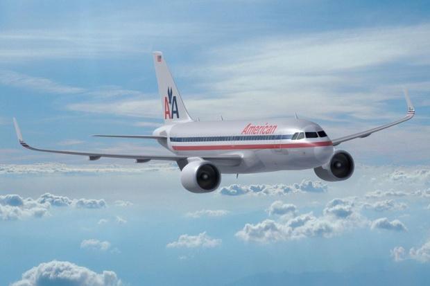 American A319-100 (68)(Flt)(Airbus)(LR)