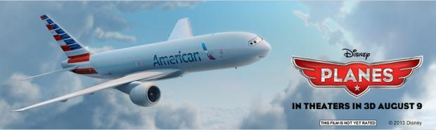 American-Disney Planes Banner