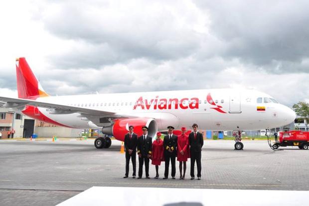 Avianca A320-200 N538AV (13)(Grd)(Avianca)(LR)