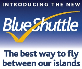 Blue Islands Blue Shuttle logo