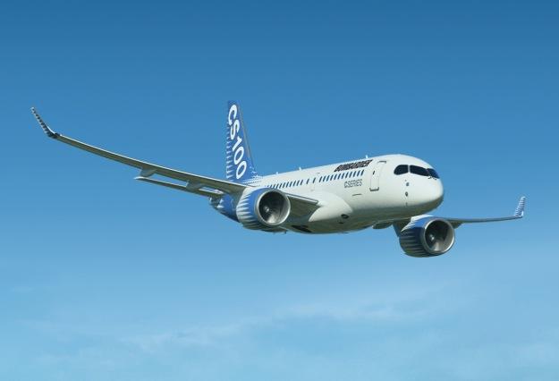Bombardier CS100 (Flt)(Bombardier)(LRW)