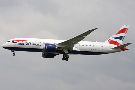 British Airways 787-8 G-ZBJB (97-Union flag)(Apr) LHR (JMS)(LRW)