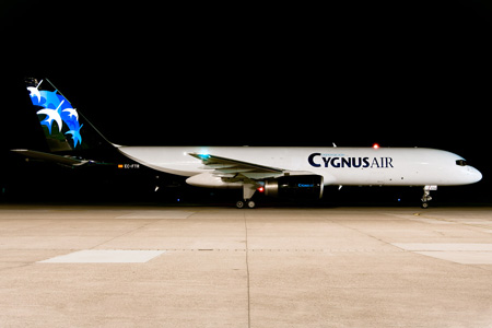Cygnus Air (2nd) 757-200F EC-FTR (13)(Grd) NUE (GM)(LRW)