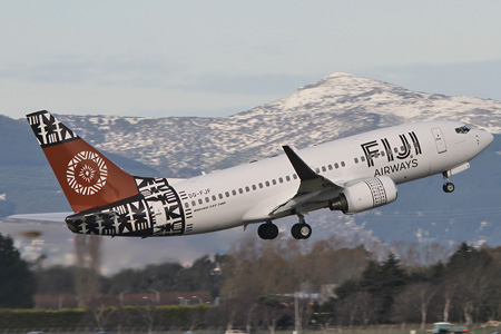 Fiji Airways (2nd) 737-700 WL DQ-FJF (13)(Tko) CHC (GWB)(LRW)