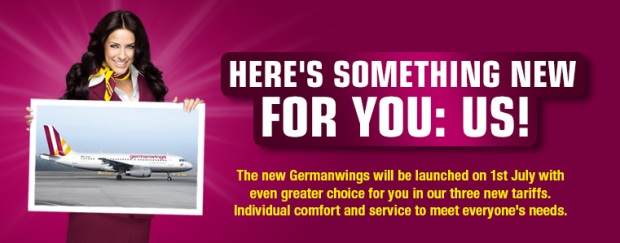 Germanwings Relaunch Ad