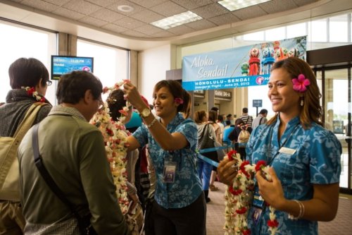 HAWAIIAN AIRLINES LAUNCHES NONSTOP SERVICE TO SENDAI