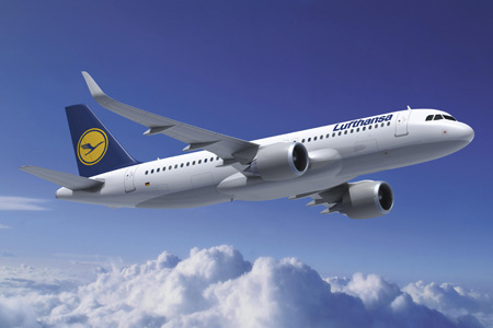 Lufthansa A320-200neo WL (88)(Flt)(Airbus)(LRW)