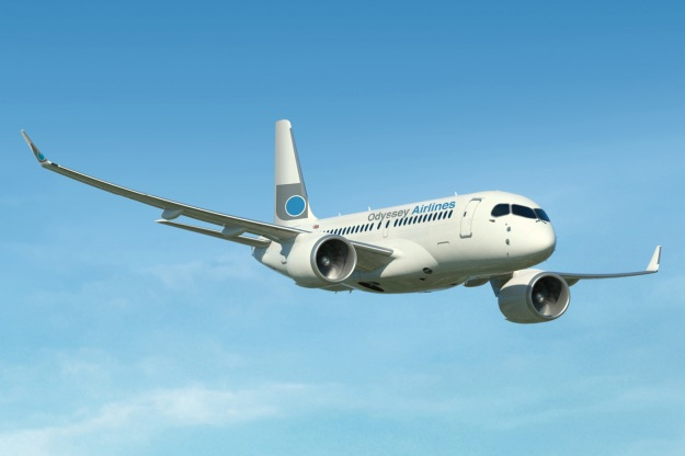 Odyssey CS100 (Flt)(Bombardier)(LR)