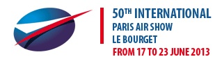 Paris Air Show 2013 logo