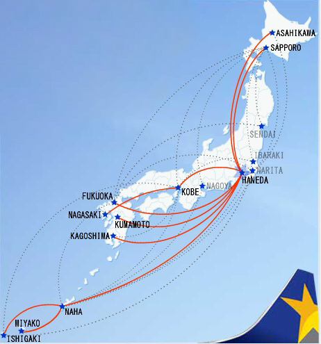 Skymark 6-2013 Route Map
