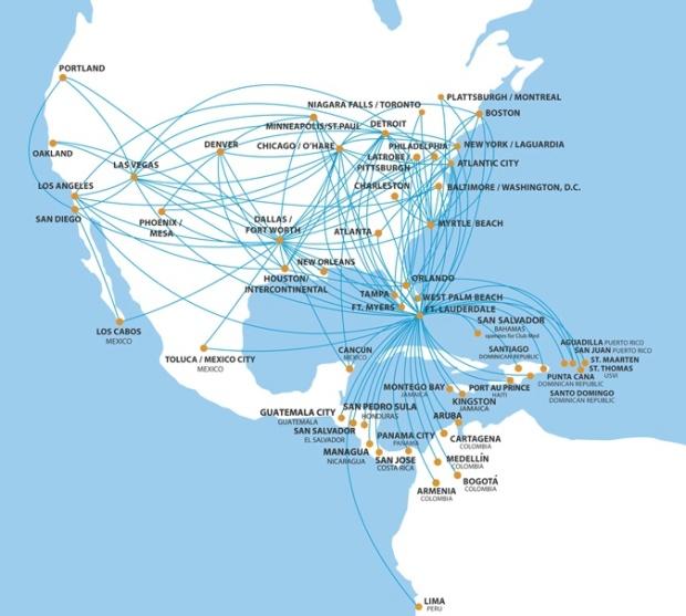 Spirit 6:2013 Route Map