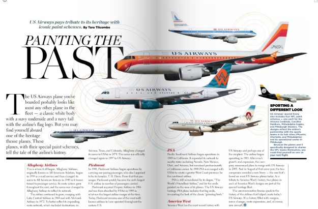 US Airways Heritage Logojets (US Airways)