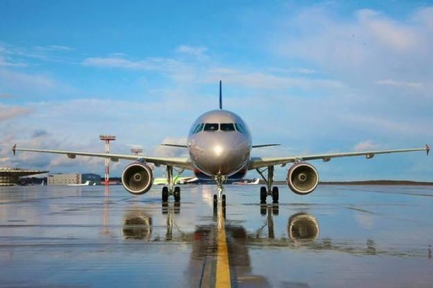 Aeroflot A320 Nose (Aeroflot)(LR)
