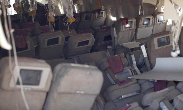 Asiana 777 Cabin (NTSB)(LR)