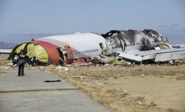 Asiana 777 Wreck (NTSB)(LR)