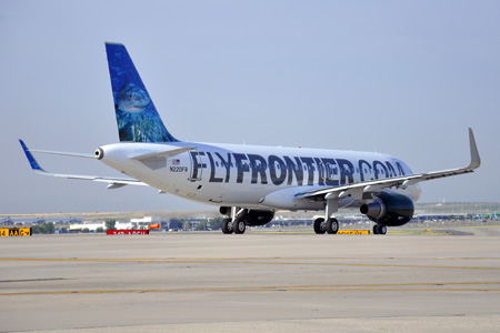 FlyFrontier.com A320-200 WL N220FR (13)(Grd) DEN (Frontier)(LRW)