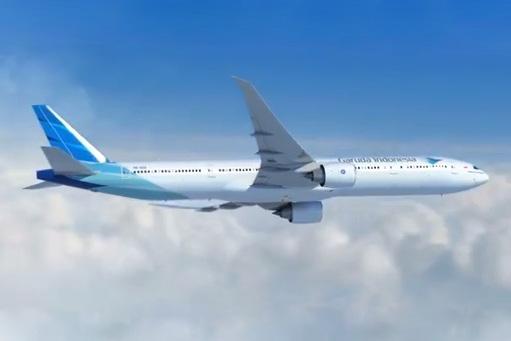 Garuda Indonesia 777-300 PK-GIA (09)(Flt)(Garuda)(LR)