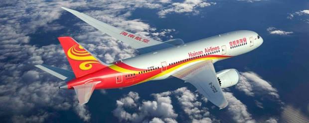 Hainan 787-8 B-2722 (07)(Flt) (Hainan)(LR)