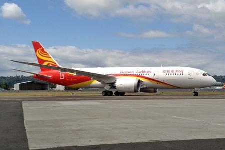 Hainan 787-8 B-2722 (07)(Grd) BFI (Jim Arlow)(LRW)