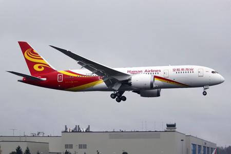 Hainan 787-8 B-2728 (07)(Ldg) PAE (JGW)(LRW)