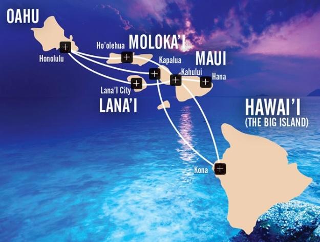 Mokulele 7:2013 Route Map