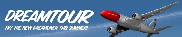 Norwegian 787 Dreamtour Banner (Norwegian)(LR)