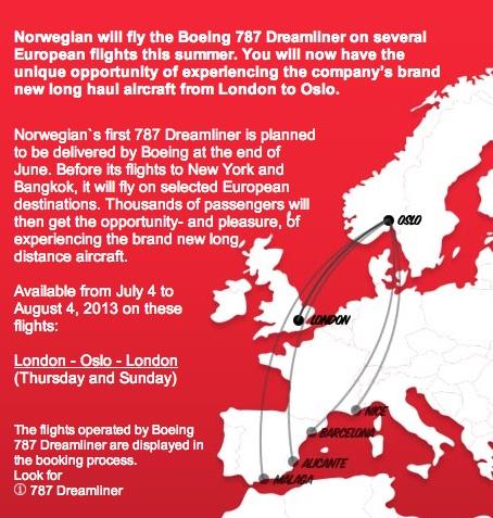 Norwegian 787 European Dreamtour (Norwegian)(LR)