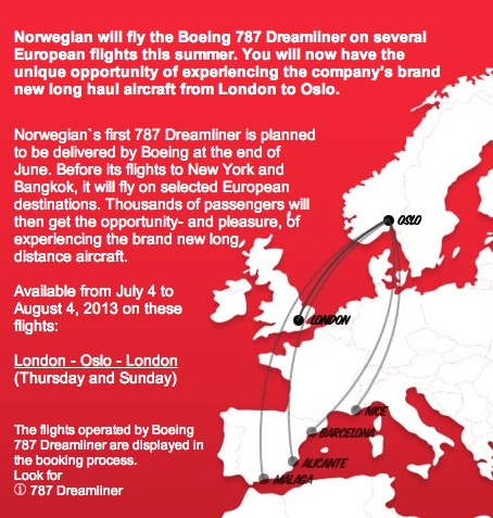 Norwegian 787 European Dreamtour (Norwegian)(LR)