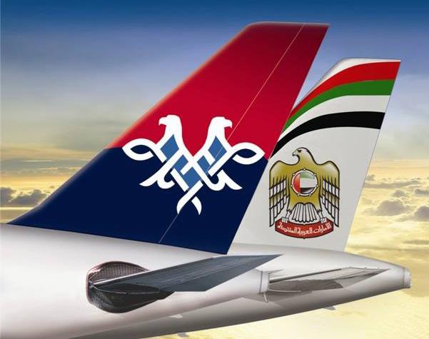 Air Serbia-Etihad Tails (Etihad)(LR)