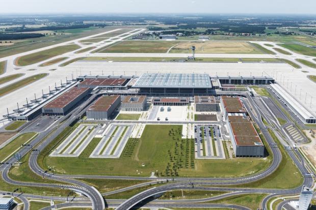 Berlin Brandenburg BER Airport