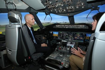 Boeing Miami-Rick Scott (Boeing)(LR)
