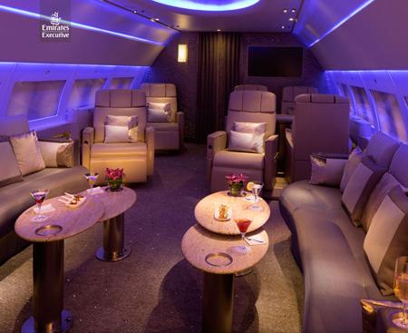 Emirates Executive A319 Cabin (Emirates)(LR)