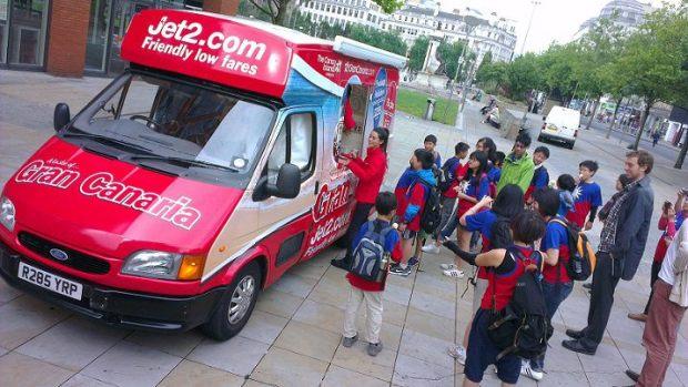 Jet2 Gran Canaria Ice Cream Van