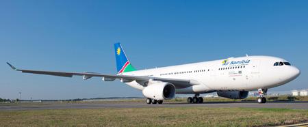 Air Namibia A330-200 V5-ANO (99)(Grd) TLS (Airbus)(LRW)