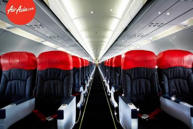AirAsia Zest A320 Cabin