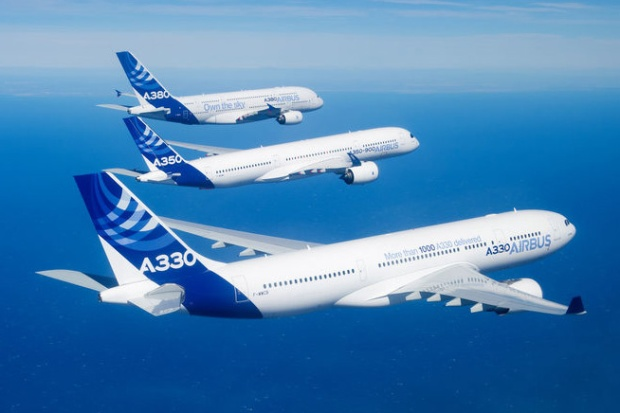 Airbus A330, A350 and A380 Inflight (Airbus)(LR)
