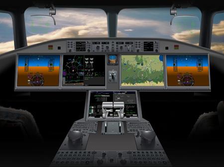 Bombardier CS100 Cockpit (LRW)
