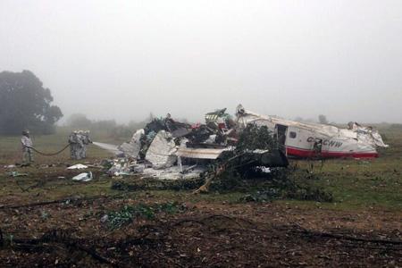 Corpflite Do 228 CC-CNW crash (@profeCantarero)(LRW)