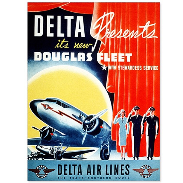Delta Douglas Fleet (Delta)(LR)
