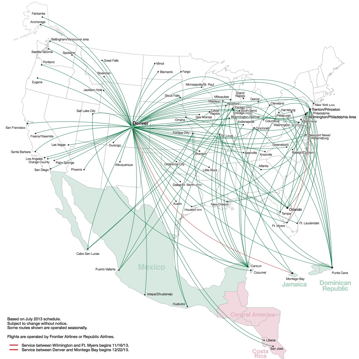 Aaron Newmans Planely Speaking – Southwest Airlines Travel Map