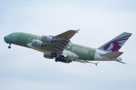 Qatar A380-800 F-WWST (06)(Tko) TLS (Airbus)(LR)