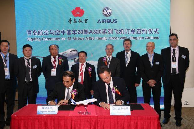 Qingdao-Airbus Signing Ceremony (Airbus)(LR)
