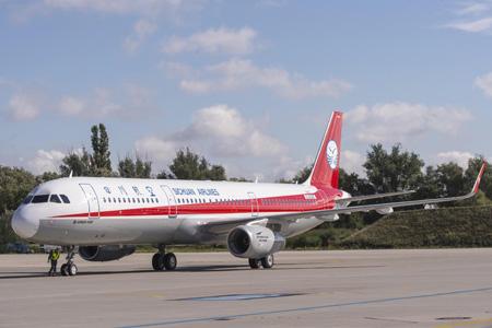 Sichuan A321-200 WL D-AZAE (B-9967)(91)(Grd) XFW (Airbus)(LRW)