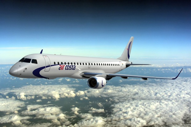 Air Costa ERJ 190 (13)(Flt)(Embraer)(HR)