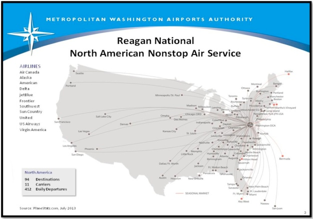 DCA Route Map